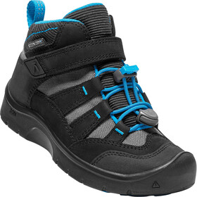 Keen Hikeport Mid WP Chaussures Enfant, black/blue jewel